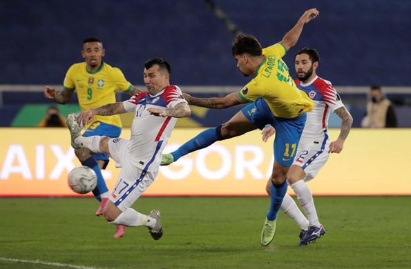 บราซิล เบียด ชิลี 1-0